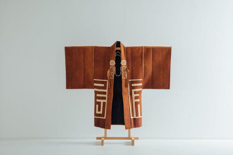 山一印燻革羽織 134.0×103.0
